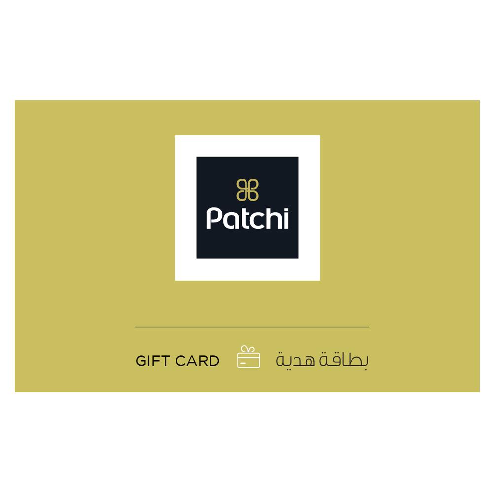 بطاقة باتشي للهدايا الإلكترونية 100 ريال