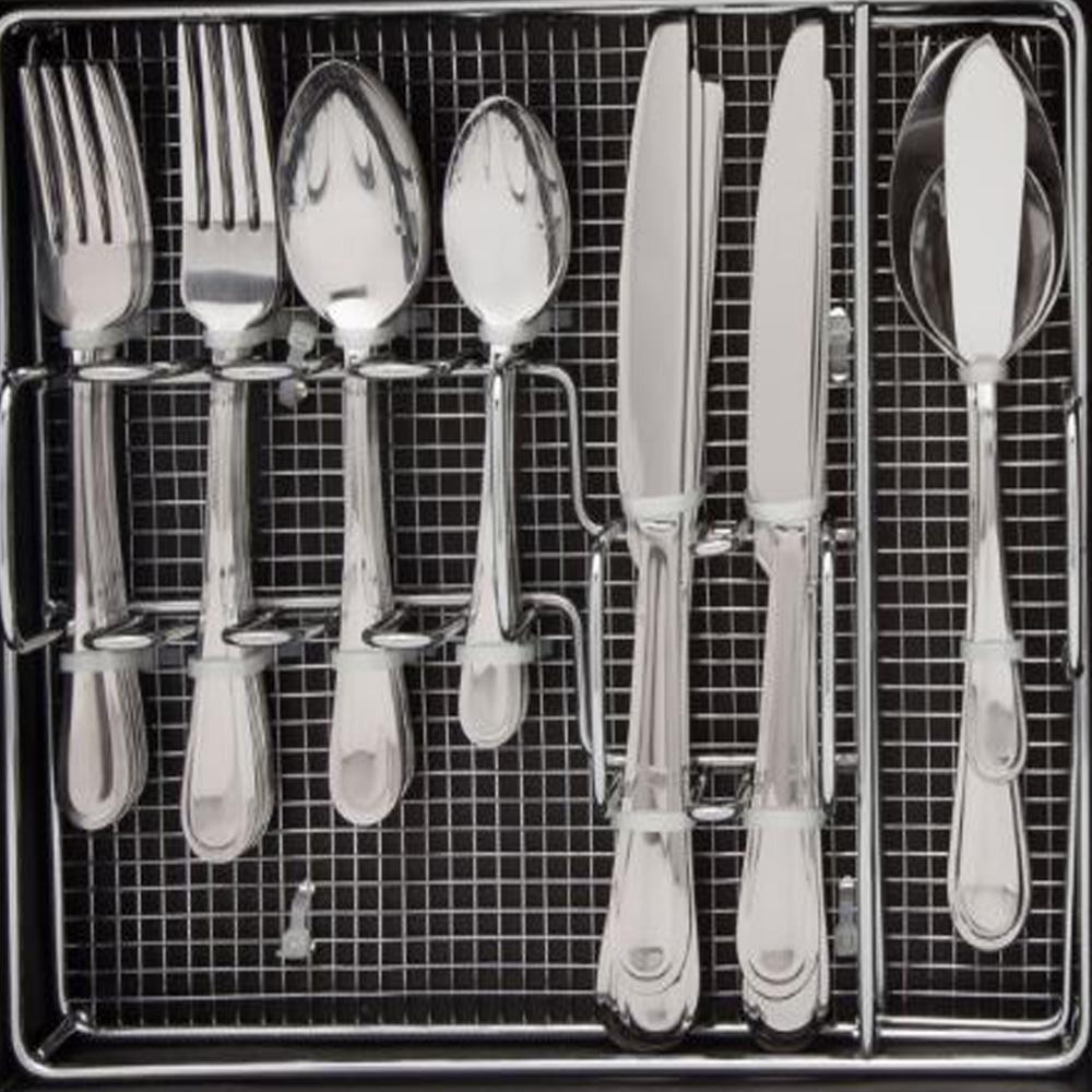 Pfaltzgraff Forte 45-pcs Cutlery Set With Cuddy