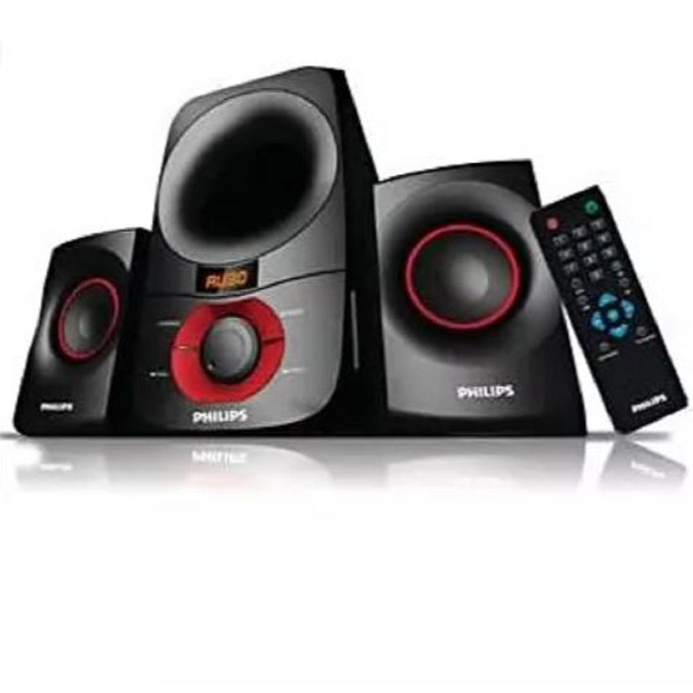 Philips 2.1 Multimedia Speakers, 3 Units, Black - MMS6060F