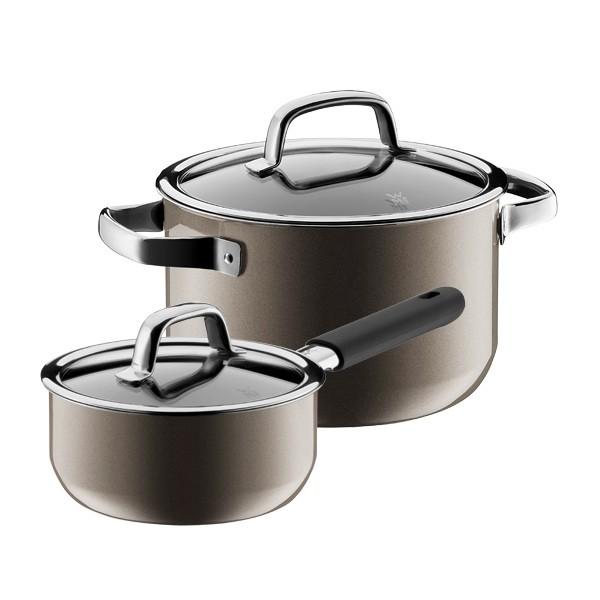 WMF Fusiontec 2-Piece Cookware Set, Dark Brass