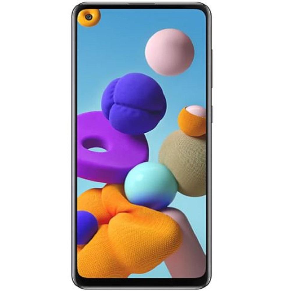 Samsung A21s Dual Sim, 64GB, 4G LTE - Black