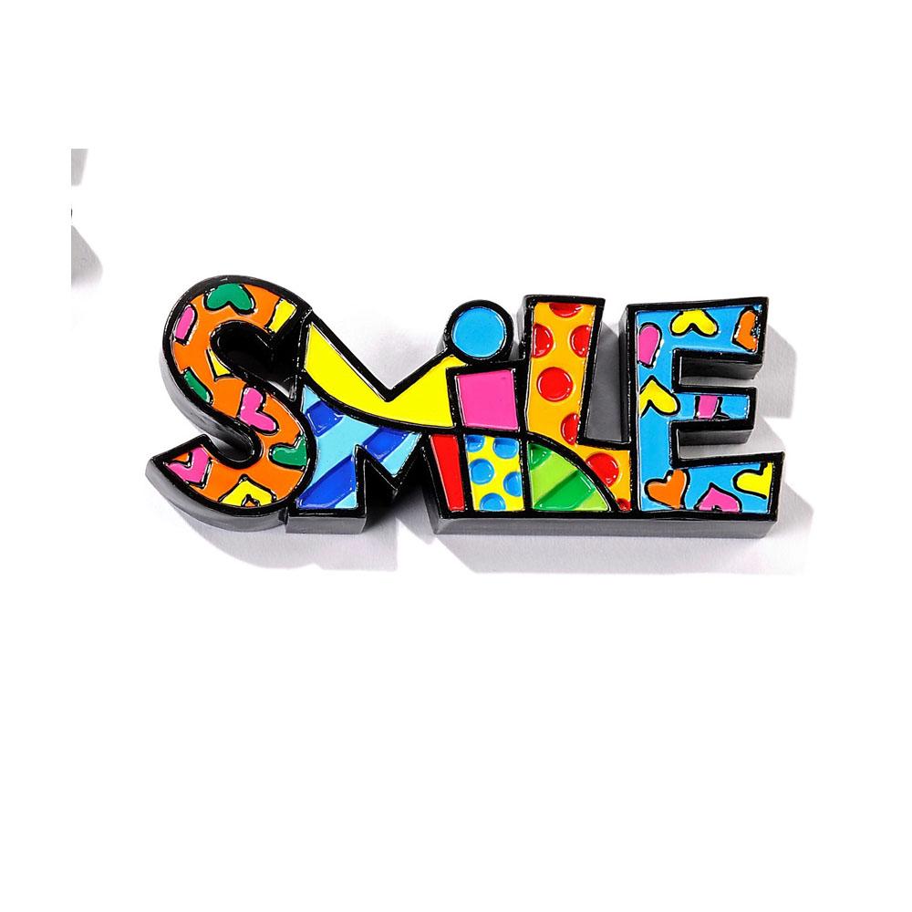 Romero Britto Mini Word Smile