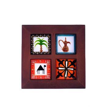 Frame Four Tiles