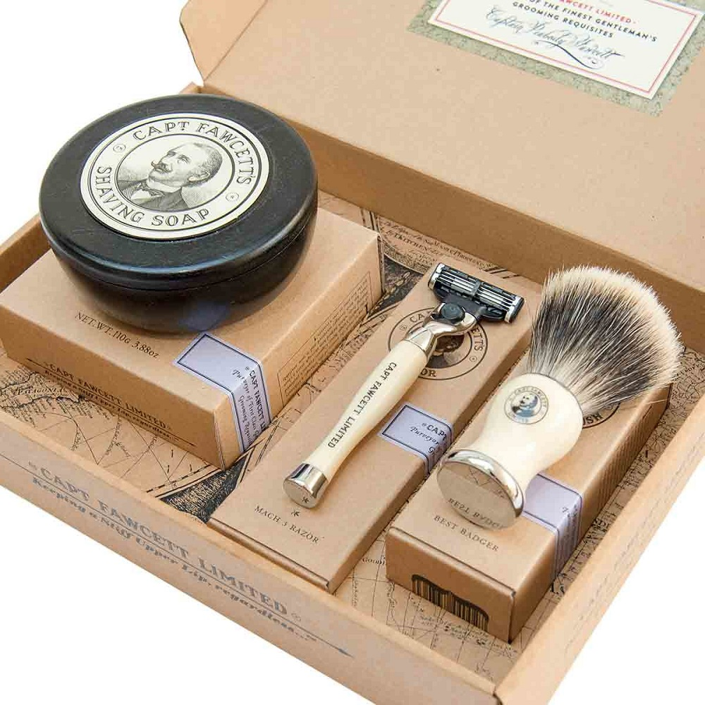 Captain Fawcett Shaving Gift Set