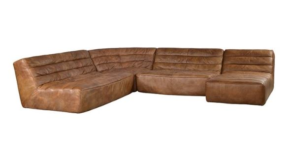 Shabby Sectional Sofa - 5 Sections  (SET)