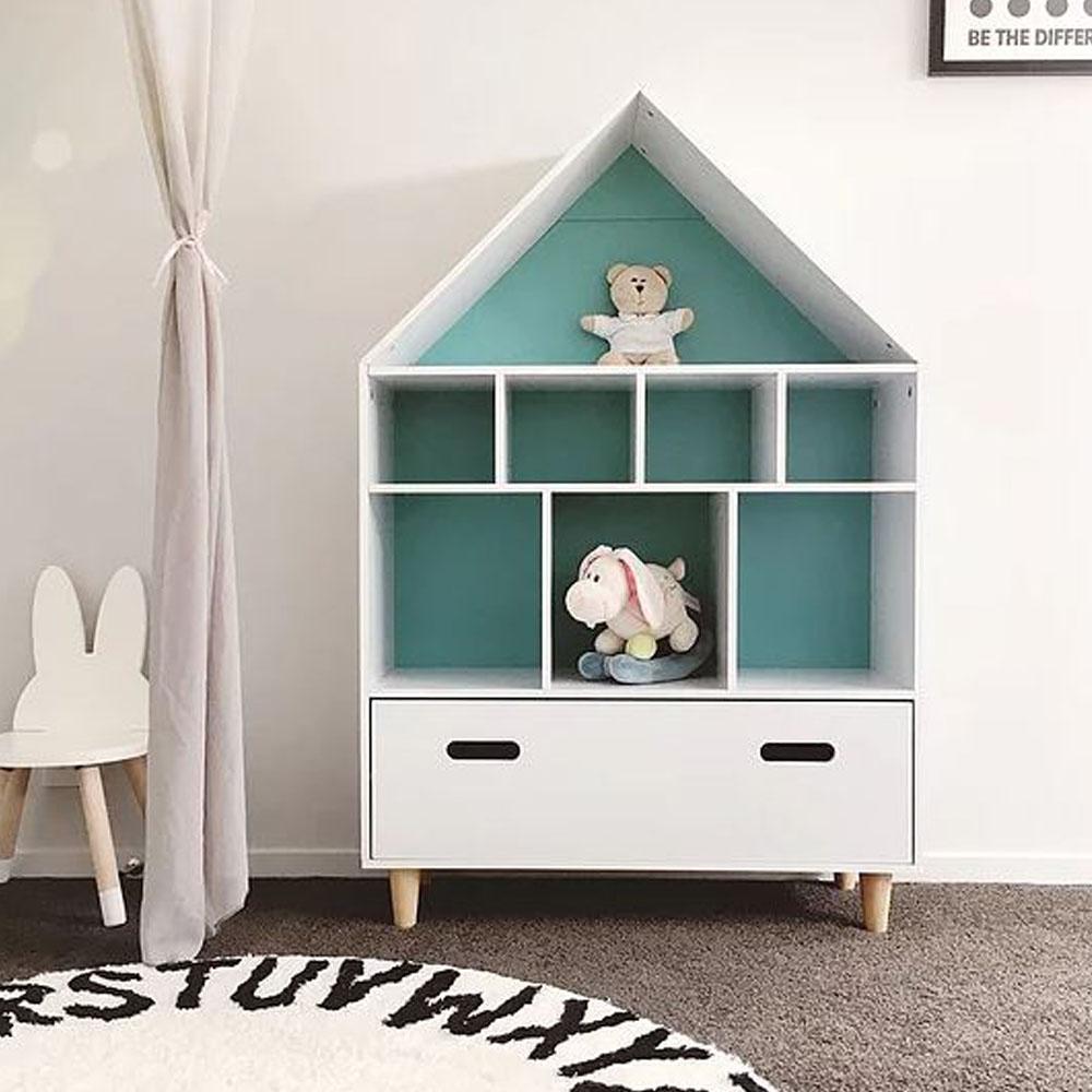 House Shape Shelf Storage Unit