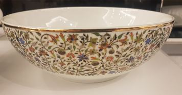 Floral Medium Salad Bowl