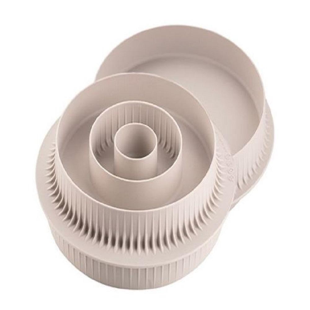 قالب دائري ثلاثي الأبعاد ومتعدد الفواصل، سيليكومارت-Silikomart