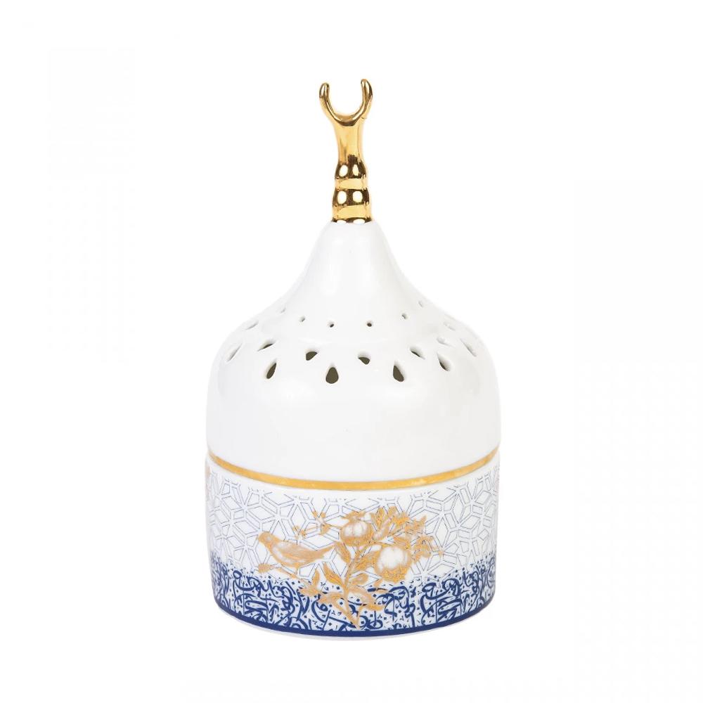 Silsal Crescent Kunooz Mabkhara Incense Burner
