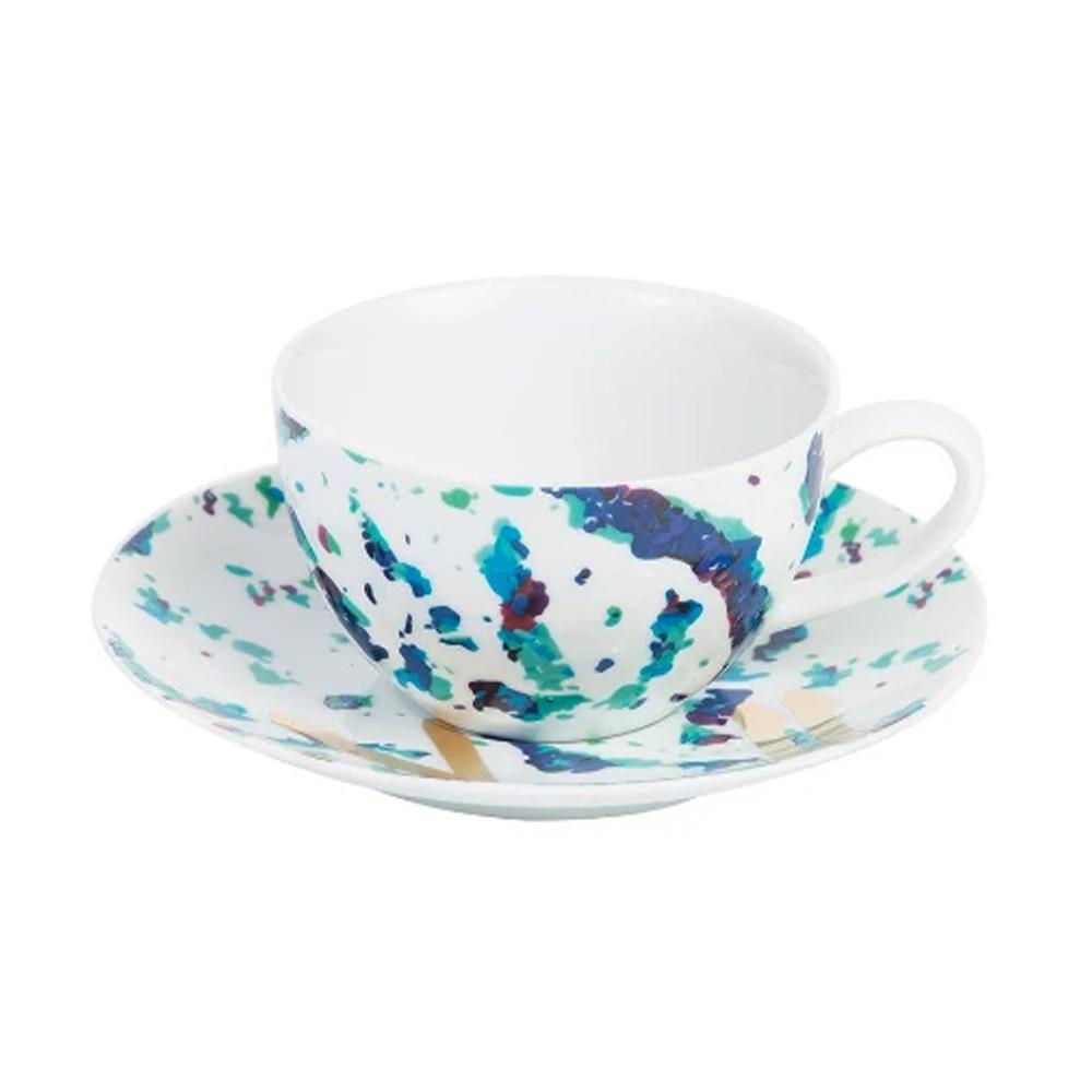 Silsal Fairuz Porcelain Tea Cup