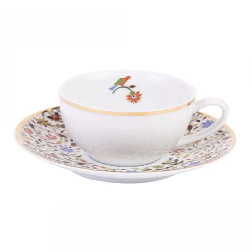 Silsal Majestic Porcelain Tea Cup