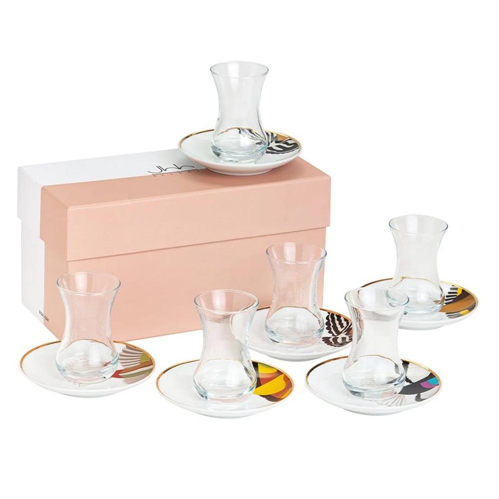 Silsal Mix & Match Gift Box Of 6 Sarb Tea Cups