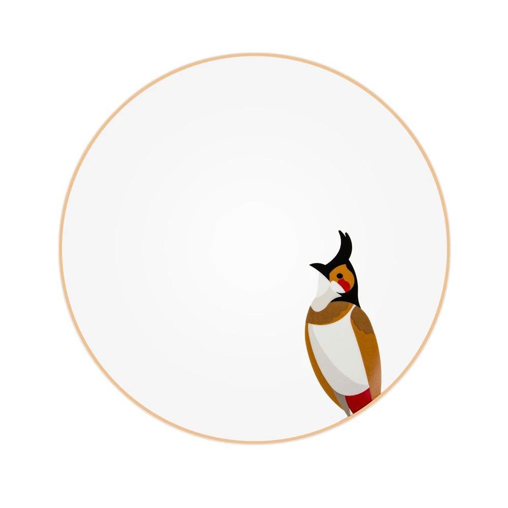 Silsal Sarb Dinner Plate - Bulbul