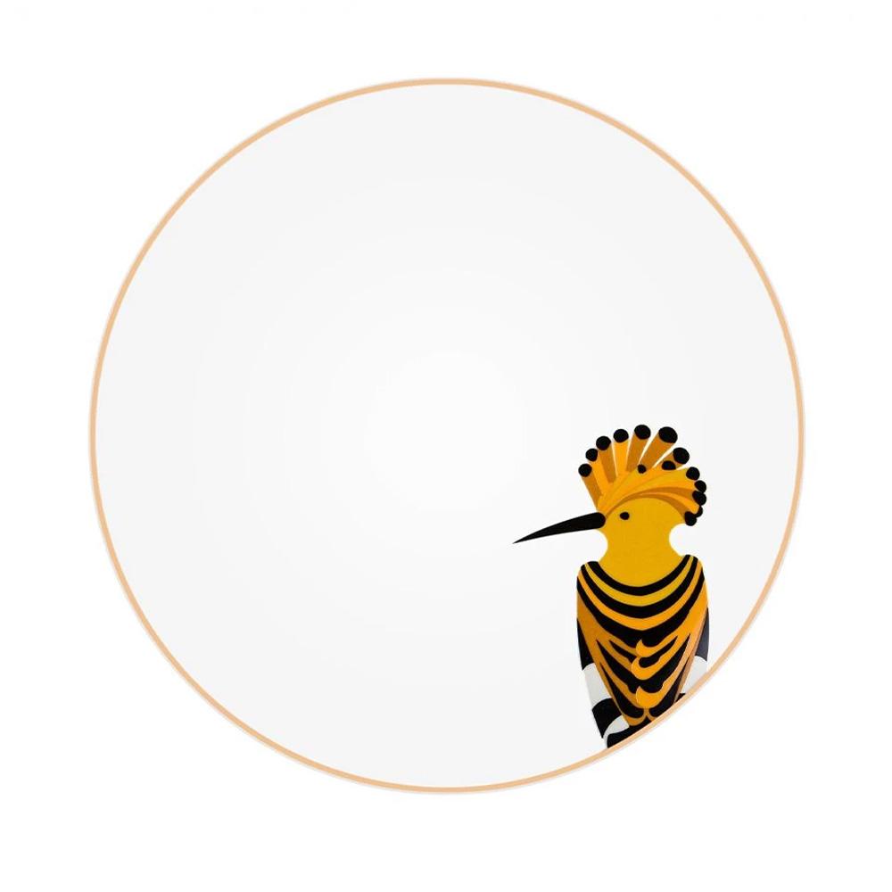 Silsal Sarb Dinner Plate - Hoopoe
