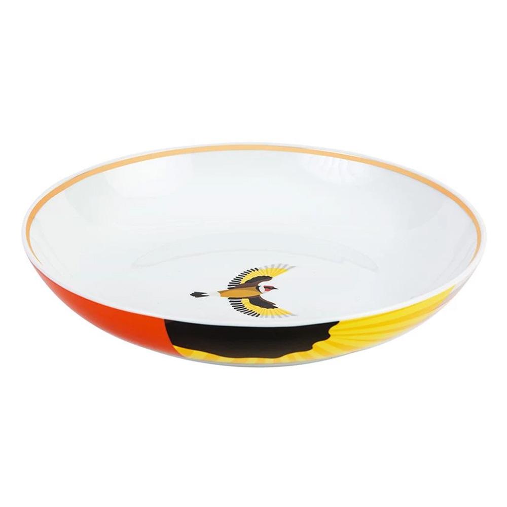 Silsal Sarb Soup Bowl - European Goldfinch