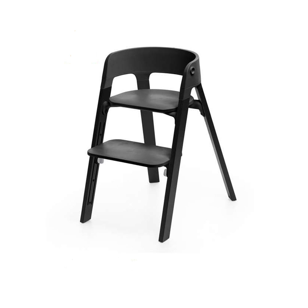 ستوك® ستيبس™ كرسي، أسود