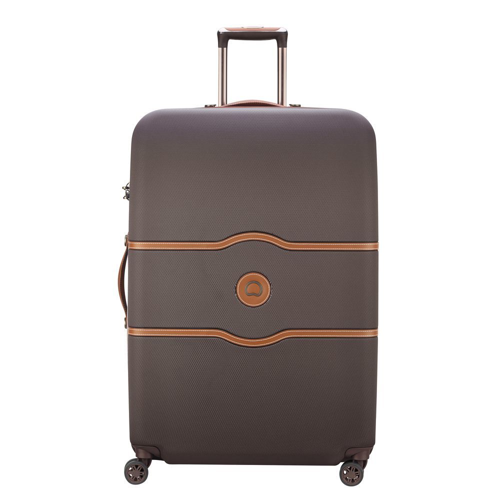 Chatelet Air 4 Double Wheels Trolley Case Chocolate