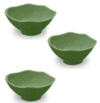 Tar Hong Amazon Leaf Bamboo Fiber Melamine Dip Bowls