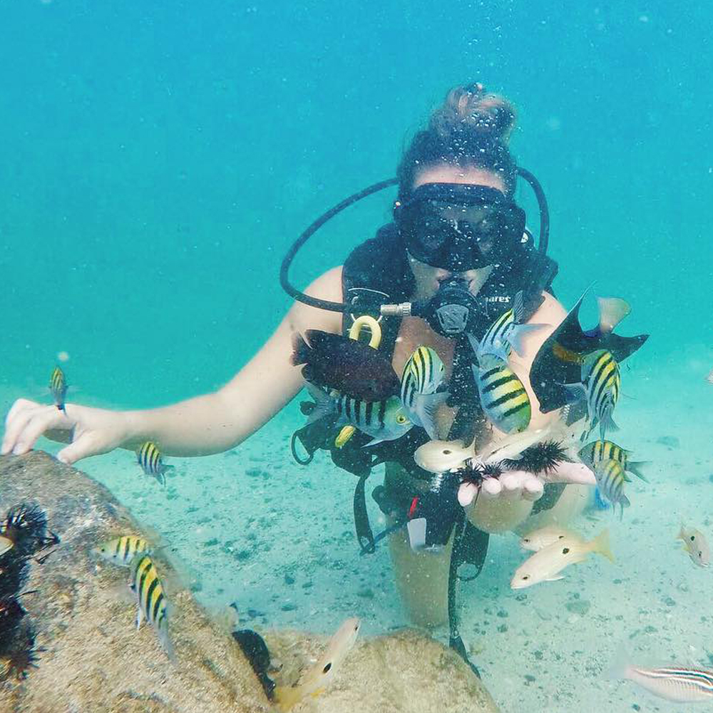 Dubai Scuba Diving (full face mask)