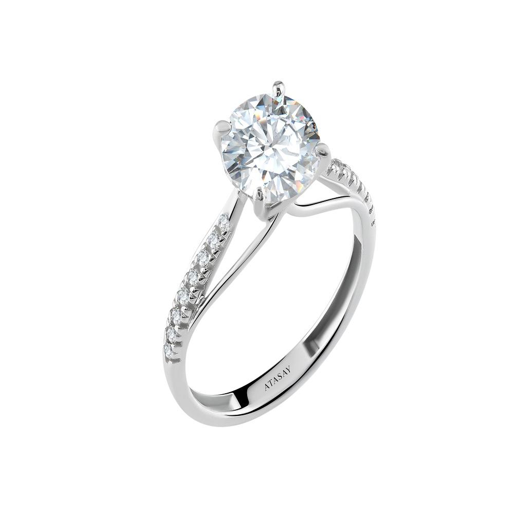 X Atasay Ring With Swarovzki14